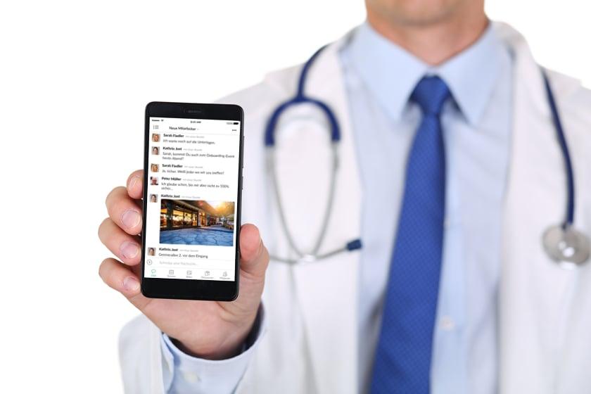 Der falsche Messenger kann der Klinik den Exitus bringen!