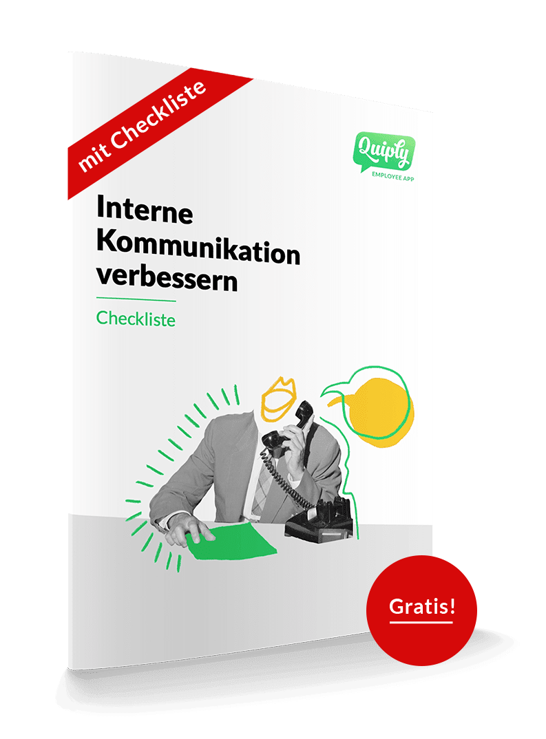 Illustration Checkliste Interne Kommunikation
