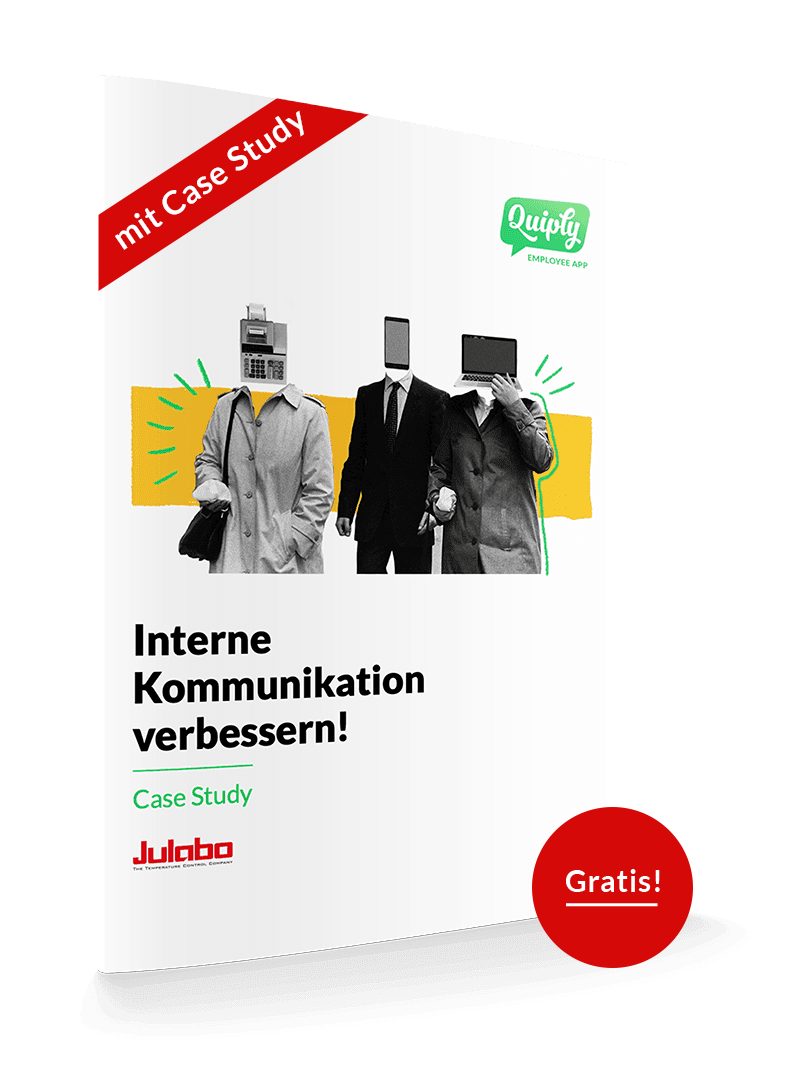 Illustration Case Study Interne Kommunikation bei JULABO